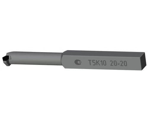 Резец канавочный внутренний 10х10х100 ВК8